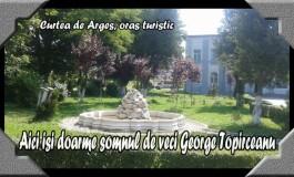 Pelerinaj mai ceva ca la Boca! Mormântul lui George Topîrceanu se aflǎ la Curtea de Argeş