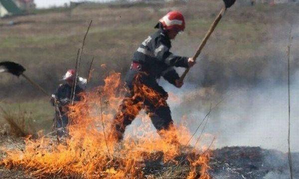 Incendii la… foc automat in Argeș ! În Albești, Baiculesti, Bascov si alte 7 localitati