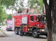 ACUM! Pompierii intervin la Scoala nr 4 Mircea cel Batran