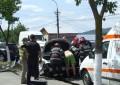 Galerie foto! Preotul Margaritescu implicat intr-un accident de circulatie