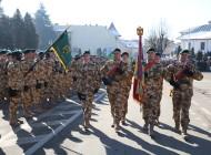 """Militari din batalionul 33 Vânători de munte """"Posada"""" participa la un exerciţiu multinaţional, în Germania."""