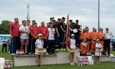 Pompierii argeseni, din nou fruntasi la concursurile nationale