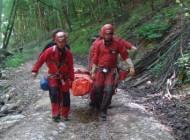 Salvamontistii, interventii de urgenta pentru turisti raniti