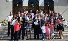 Directorul DSV Arges si-a botezat al treilea baiat