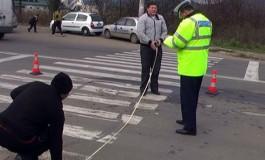 Accident în Piteşti! O fetiţă de 11 ani a fost lovită pe trecerea de pietoni