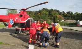 Bebluș în stare gravă - A fost chemat elicopterul SMURD