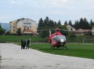 Un tânăr muscelean în comă a fost trimis cu elicopterul SMURD la Bucureşti