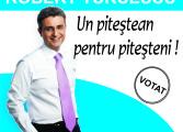 EXCLUSIV ! Robert Turcescu, candidat la primǎria Piteşti  !?!