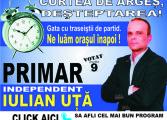 """""""CURTEA DE ARGES 2020 """" - independentul  Iulian Uţǎ  are cel mai realist program de administrare a orasului"""