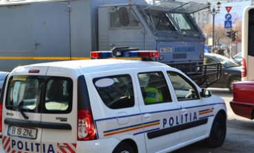 Copil pericol in trafic - Vezi cum l-au prins politistii!