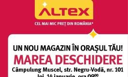 Prima deschidere ALTEX din 2016 are loc în Câmpulung Muscel