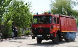 La Bǎbana, pompierii nu au probleme -Se monteazǎ hidranţi în toate zonele