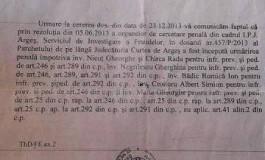 EXCLUSIV ! Jonglerii cu terenurile argeşenilor, la primǎria Curtea de Argeş