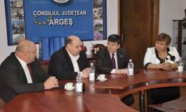Discutii intense - Invitati din Republica Moldova, la CJ Arges