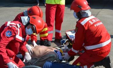 Salvat de paramedici - La un pas de moarte din cauza unei bucati de carne