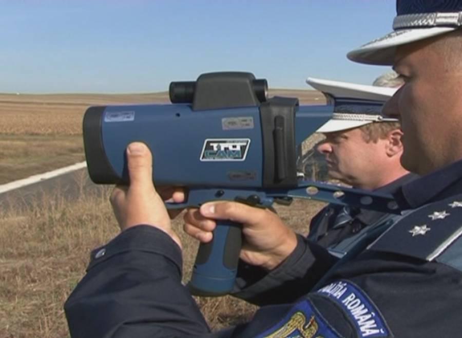 Tot mai mulţi vitezomani în Argeş – Viteze record pe aparatele radar