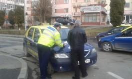 """ACUM! Taximetristii luati """"la puricat"""" de politie pentru ca... asa e legea"""