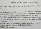 Dănuţ Dinu, candidat la primăria Piteşti a dat in judecata un ziar ! CERE DAUNE URIAŞE