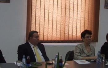 Ambasadorul Cehiei şi-a anunţat participarea la Târgul Internaţional de Utilaje Agricole editia I, Piteşti