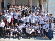 """Crosul """"Campionii bucuriei"""" a adunat la start 300 de elevi"""