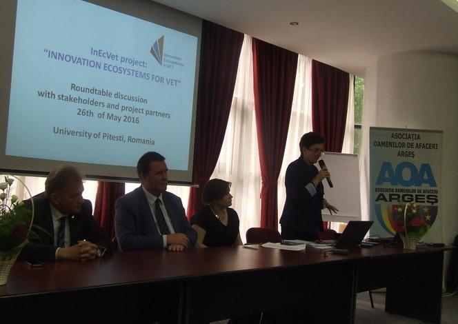 UPIT participă la un proiect transnaţional de cercetare în domeniul VET