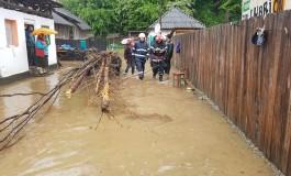 Acum! Inundatiile fac prapad in Arges - apa a intrat in casele oamenilor