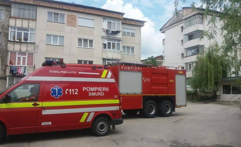 ACUM! Panica in cartierul Confectii – Intervin pompierii