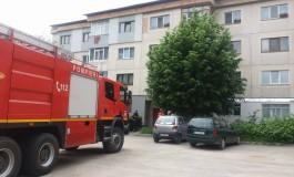 Femeie salvată de pompierii argeşeni