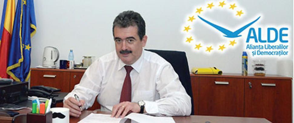 Gerea, preşedinte interimar al ALDE Constanţa