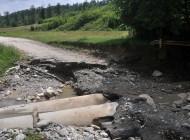 Pod distrus la Richiţele