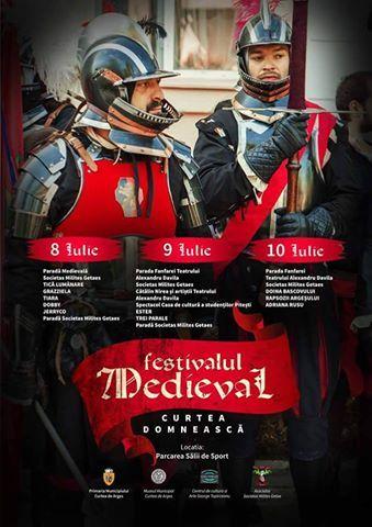 Festival Medieval la Curtea de Argeş – Programul complet pentru trei zile de evenimente