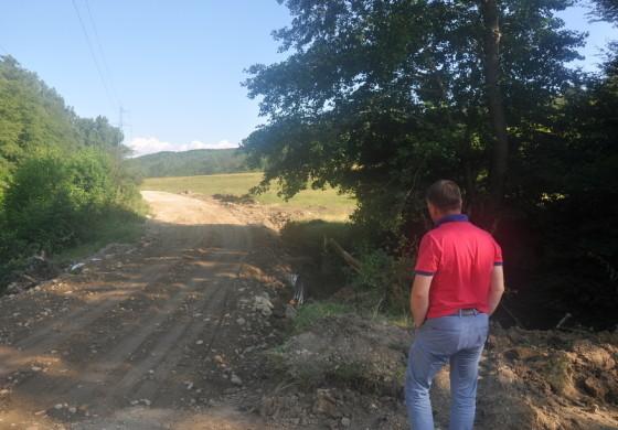 Drumul judeţean Băbana-Răchiţele-Cocu a fost redeschis