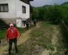 Iadul pe pamant la Rucar - Un copil a fost salvat in ultimul moment de pompieri