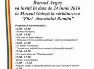 """Baroul Argeș sărbătorește """"Ziua avocatului român"""""""