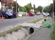 Accident groaznic la Leresti - Un barbat a murit pe loc