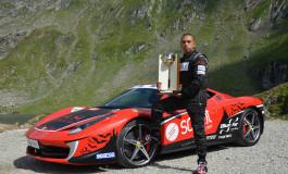 Italienii promoveaza Transfagarasanul - Fabio Barone se intoarce cu Ferrari -ul in Arges