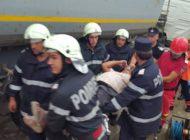Acum! VICTIMA INCARCERATA - accident la Schitu Golesti