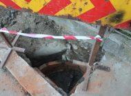 Un barbat din Curtea de Arges a cazut intr-un canal neastupat