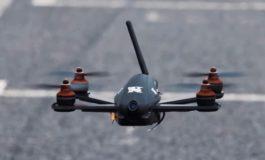 Drona cu droguri deasupra penitenciarului Mioveni