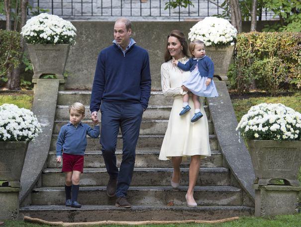 Prinţesa Charlotte a Marii Britanii, primul cuvânt rostit în public, în Canada la o petrecere cu baloane