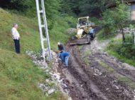 Argeșenii erau izolați - S-a amenajat un drum pe Valea Doamnei