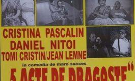 Eugen Cristea vine sa joace teatru  la Curtea de Arges