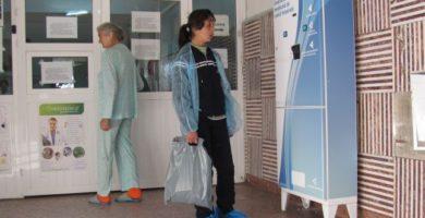 Premiera la Spitalul de Pediatrie - Se monteaza un tonomat de halate