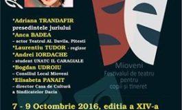 Maine se da startul Festivalului Ludicus - Adriana Trandafir in juriu