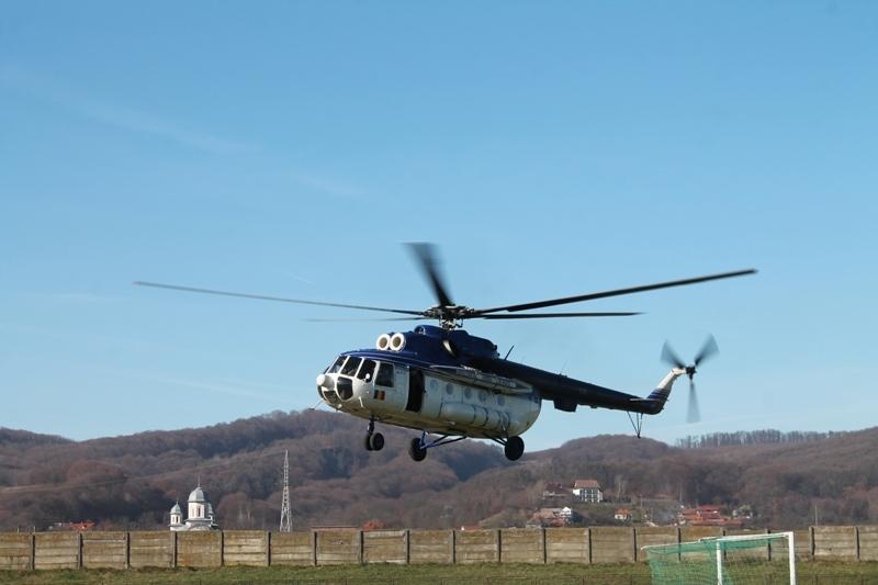Elicopter pentru Argeș – Vezi cine îl va folosi