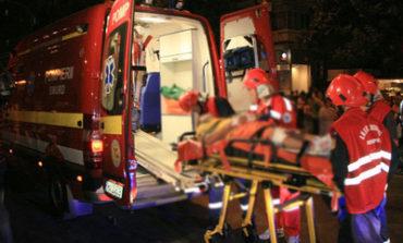 Pompierii şi SMURD-ul victime al poleiului – Abia au ajuns azi noapte la un incendiu