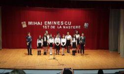 Eminescu, omagiat la Mioveni