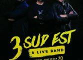EXCLUSIV! 3 SUD EST – concert la Curtea de Argeş