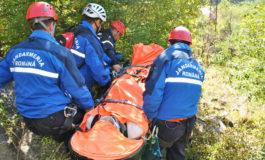 Jandarmii montani au salvat un copil rătăcit pe munte