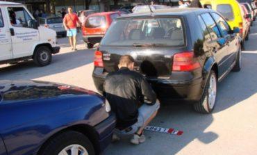 Masina cu numere false in trafic la Curtea de Arges